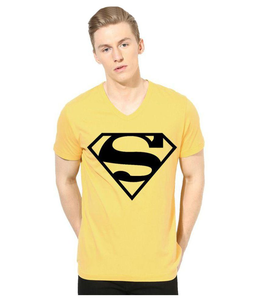 Indian Engineer Yellow V-Neck T-Shirt
