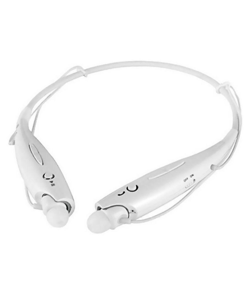 JIKRA N8 Wireless Bluetooth Headphone White