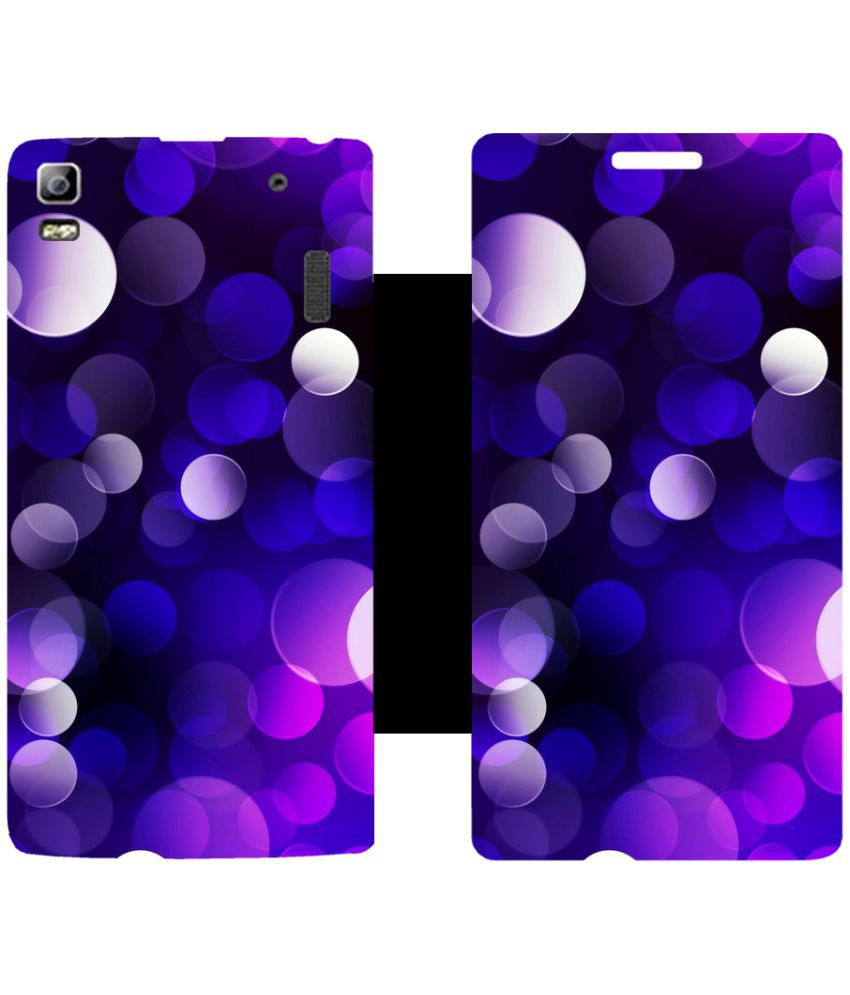 Lenovo K3 Note Flip Cover by Skintice - Multi