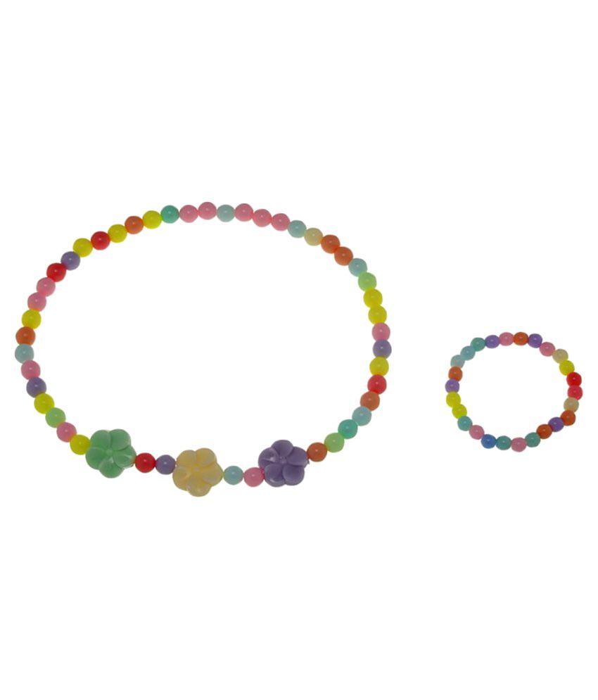 The Ethnic Wears Multicolour Combo kids jewellery