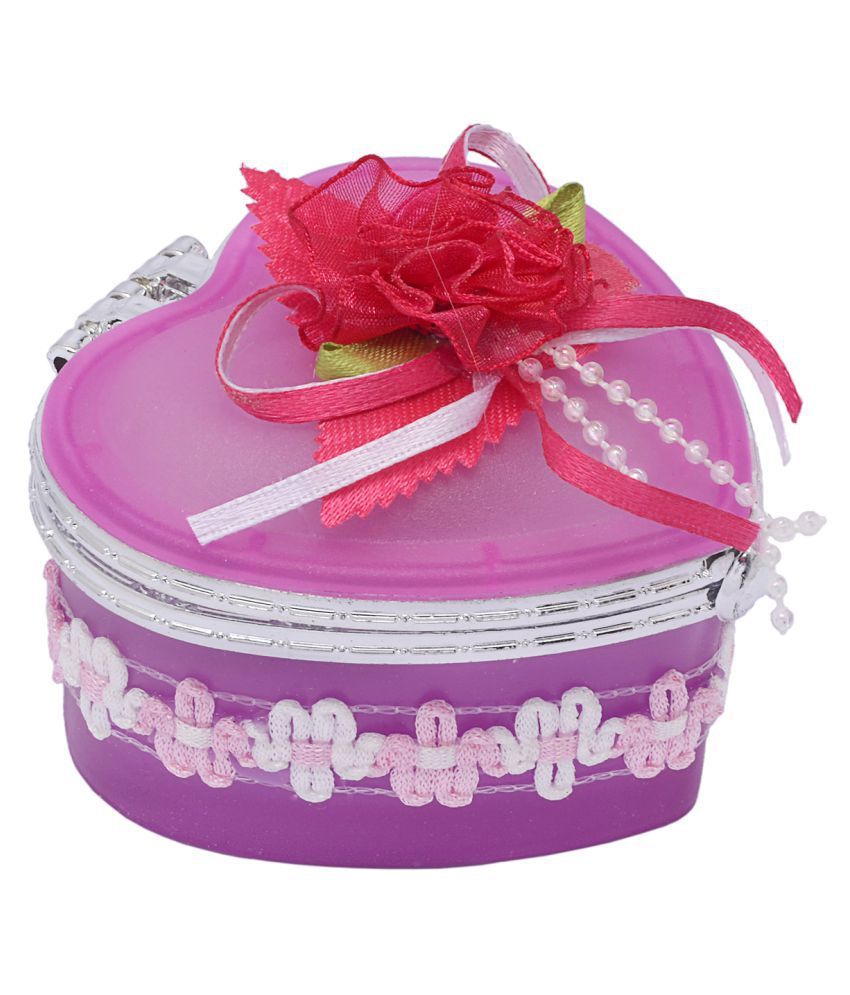 The Ethnic Wears Pink Jewellery Box