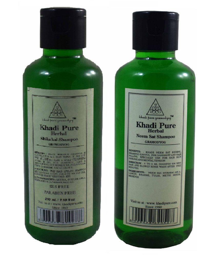 Khadi Pure HERBAL ALL HAIR TREATMENT SHAMPOO Shampoo 4 gm