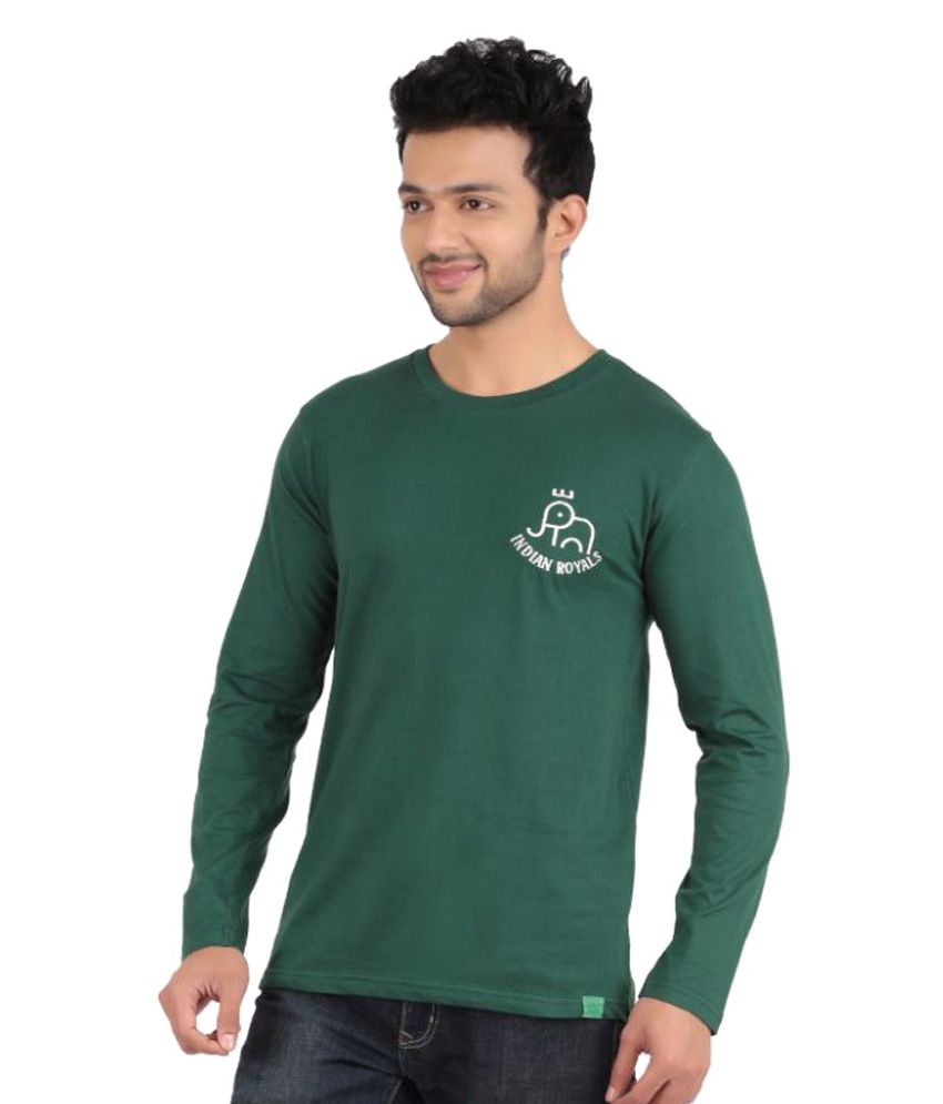 Indian Royals Green Round T-Shirt