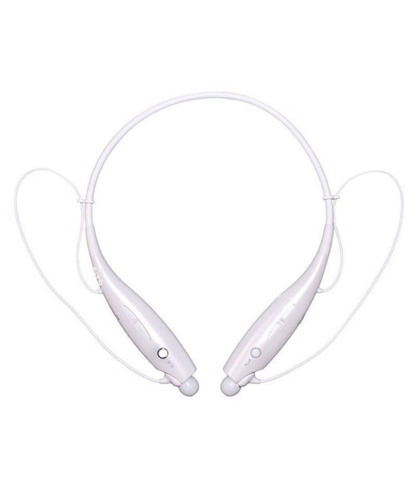 Estar Wireless Bluetooth Headphone White
