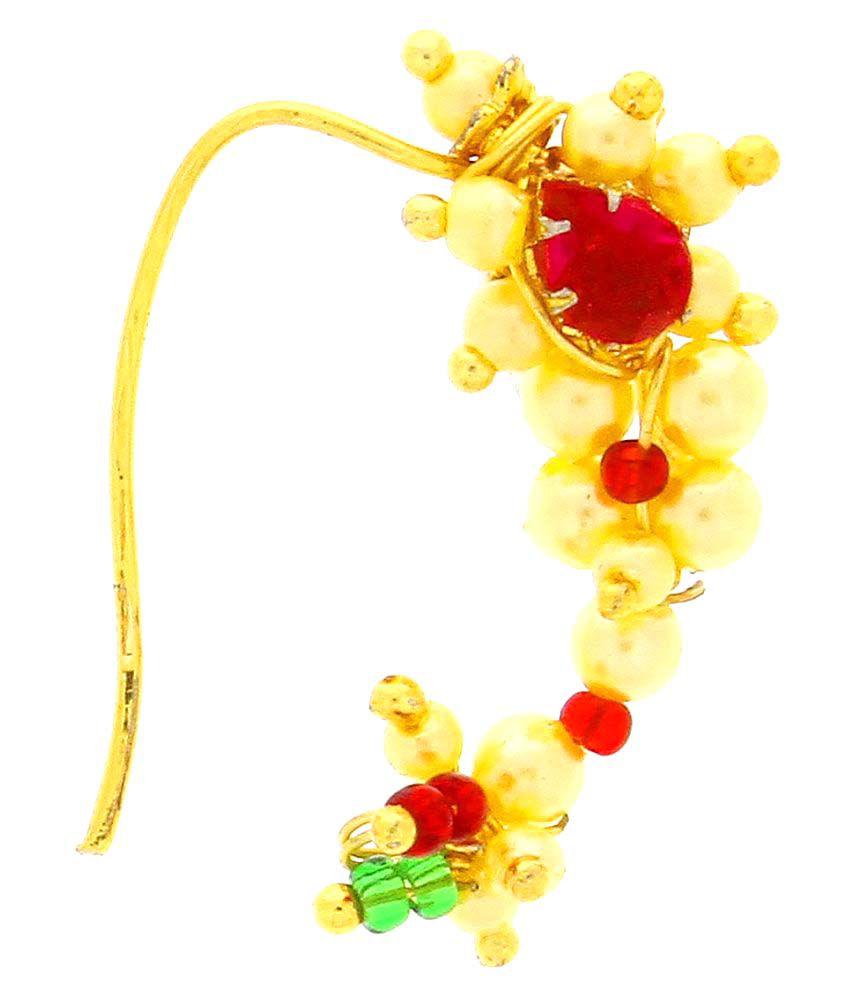 Anuradha Art Yellow Nath