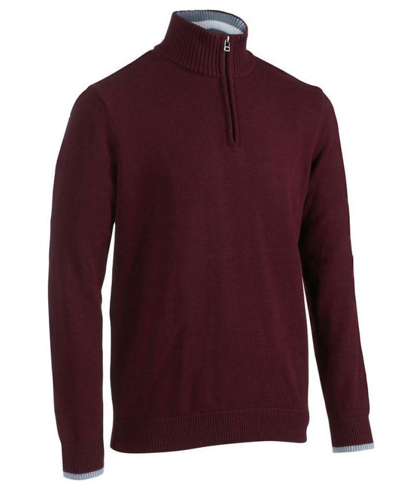 INESIS 540 Men's H Bordeaux Pullover
