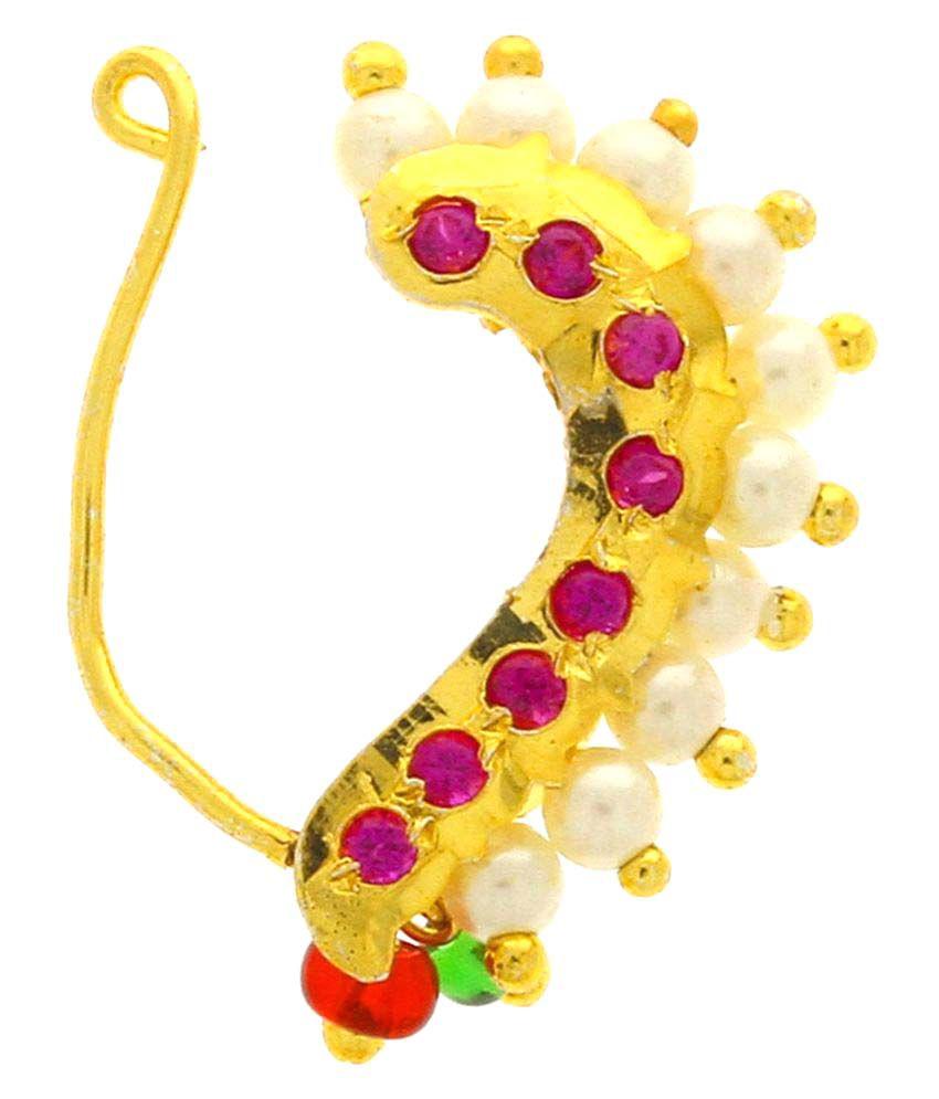 Anuradha Art Multicolour Nath