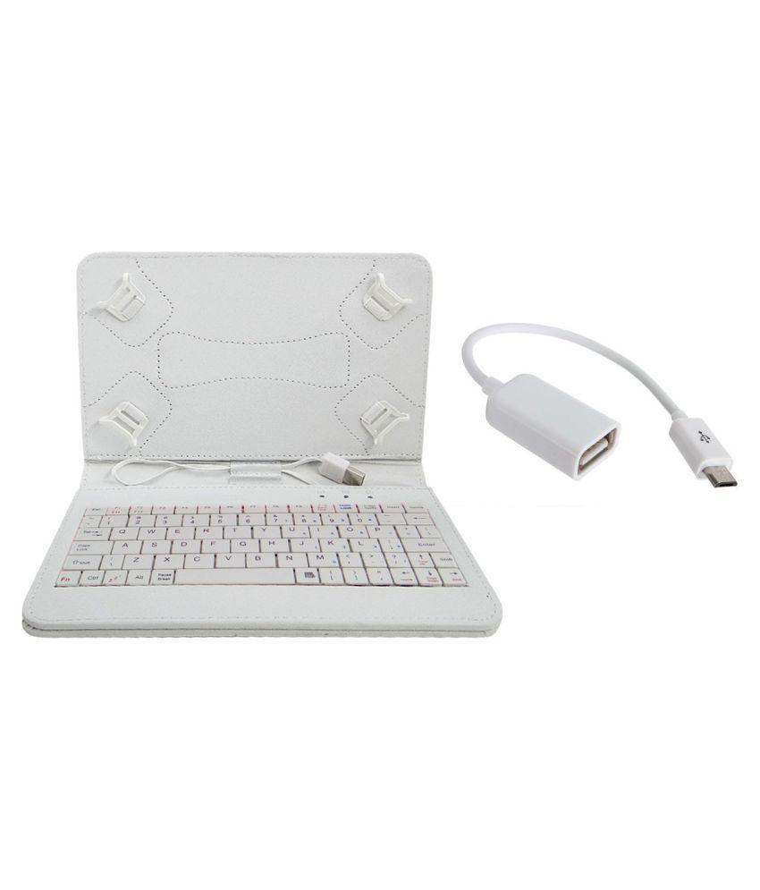 Zebpad 7C Keyboard Cover By Angel Trading White