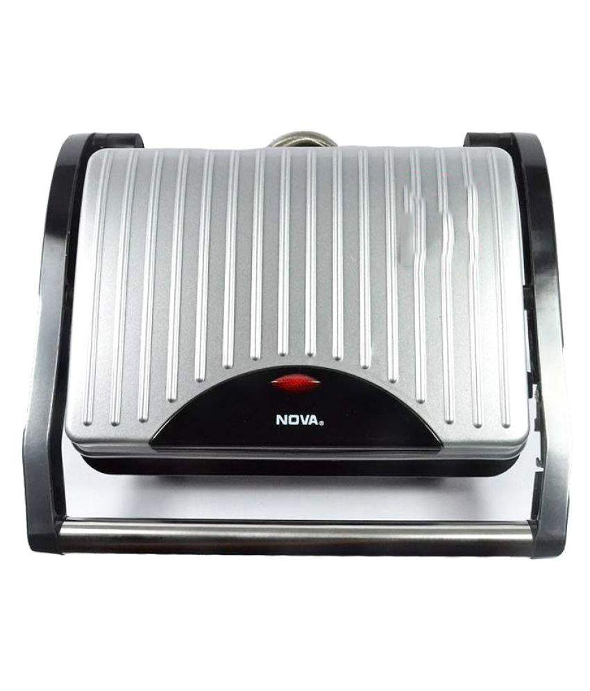 NOVA 2449 1000 Watts Panini Grill