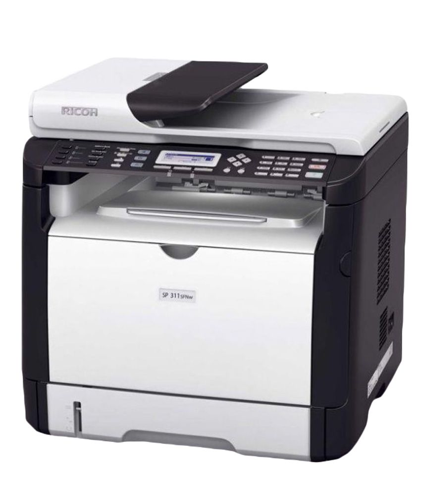 Ricoh SP310SFN Multifunction Laser Printer with ADF, FAX, Duplex printing &  Network Printing and Scanning