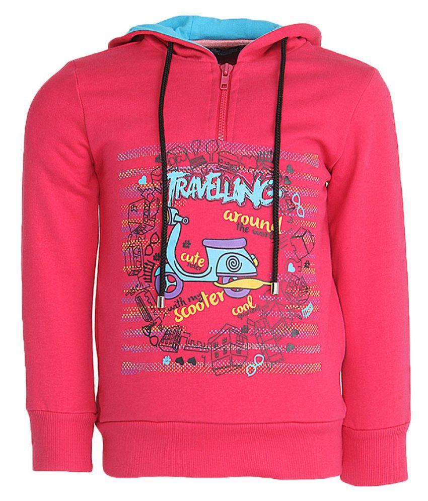 Cool Quotient Pink Sweatshirt