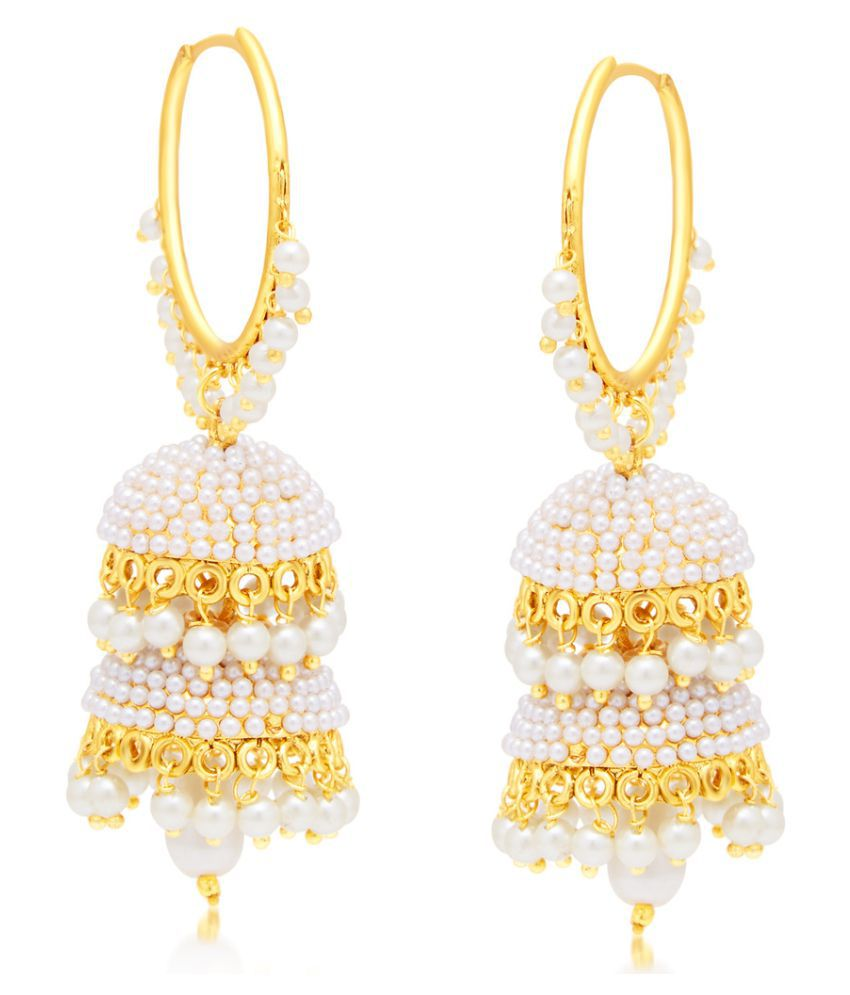 Sukkhi Eye-Catchy Gold Plated Earring For Women