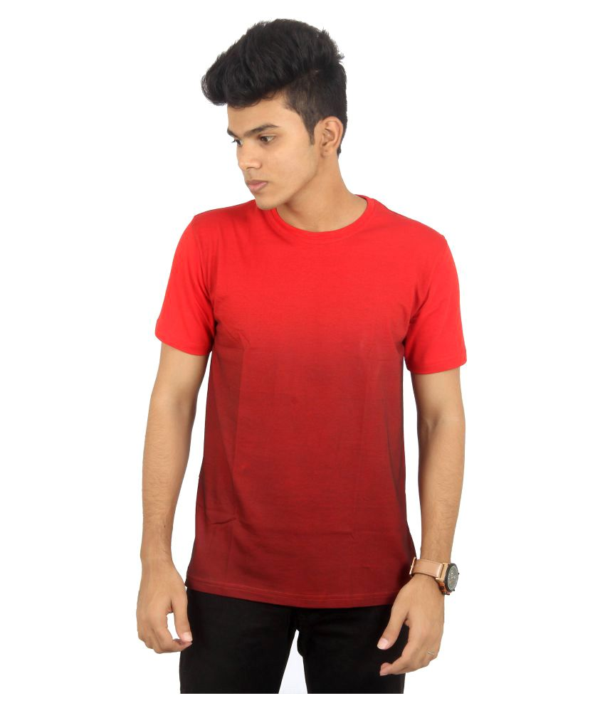 Youngsters Choice Red Round T-Shirt