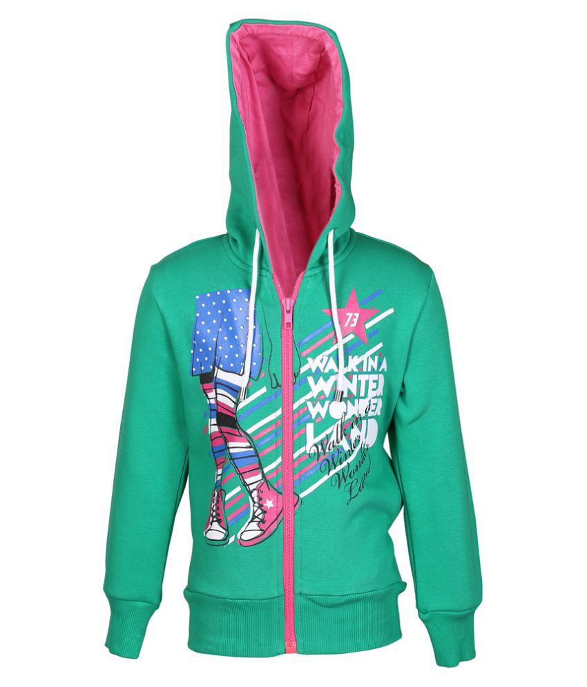 Cool Quotient Walking In Winter Hoodie