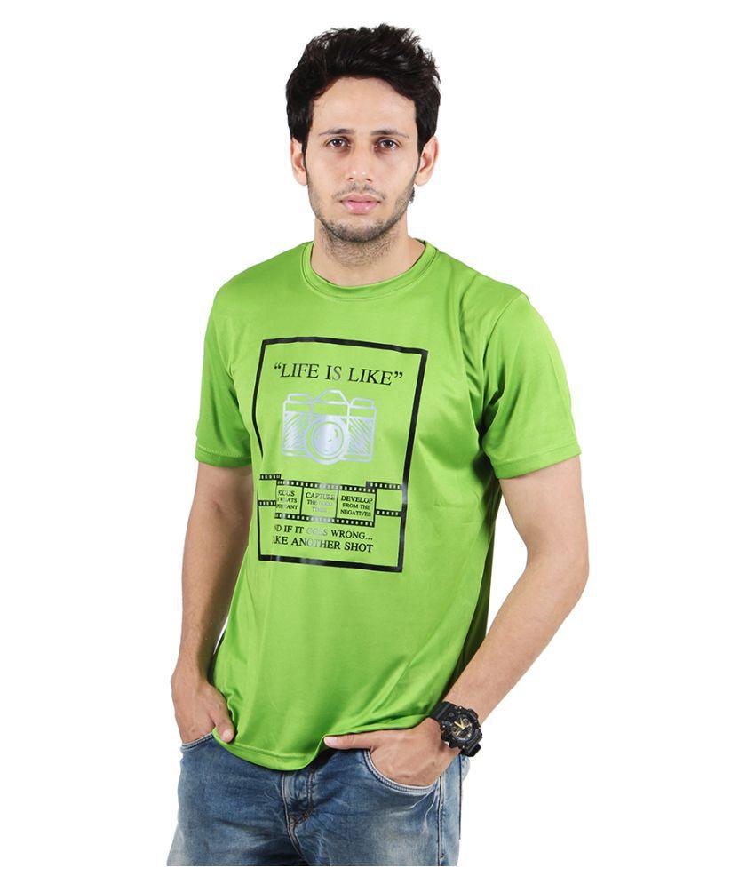 Ssak Green Round T-Shirt