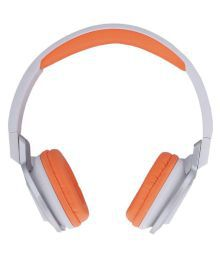 Vetro On Ear Wired Headphones With Mic White