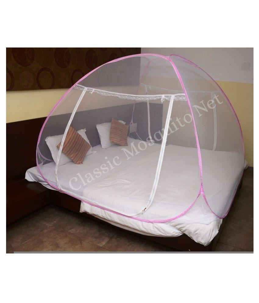 ... Classic Mosquito Net Double Pink Plain Mosquito Net ...