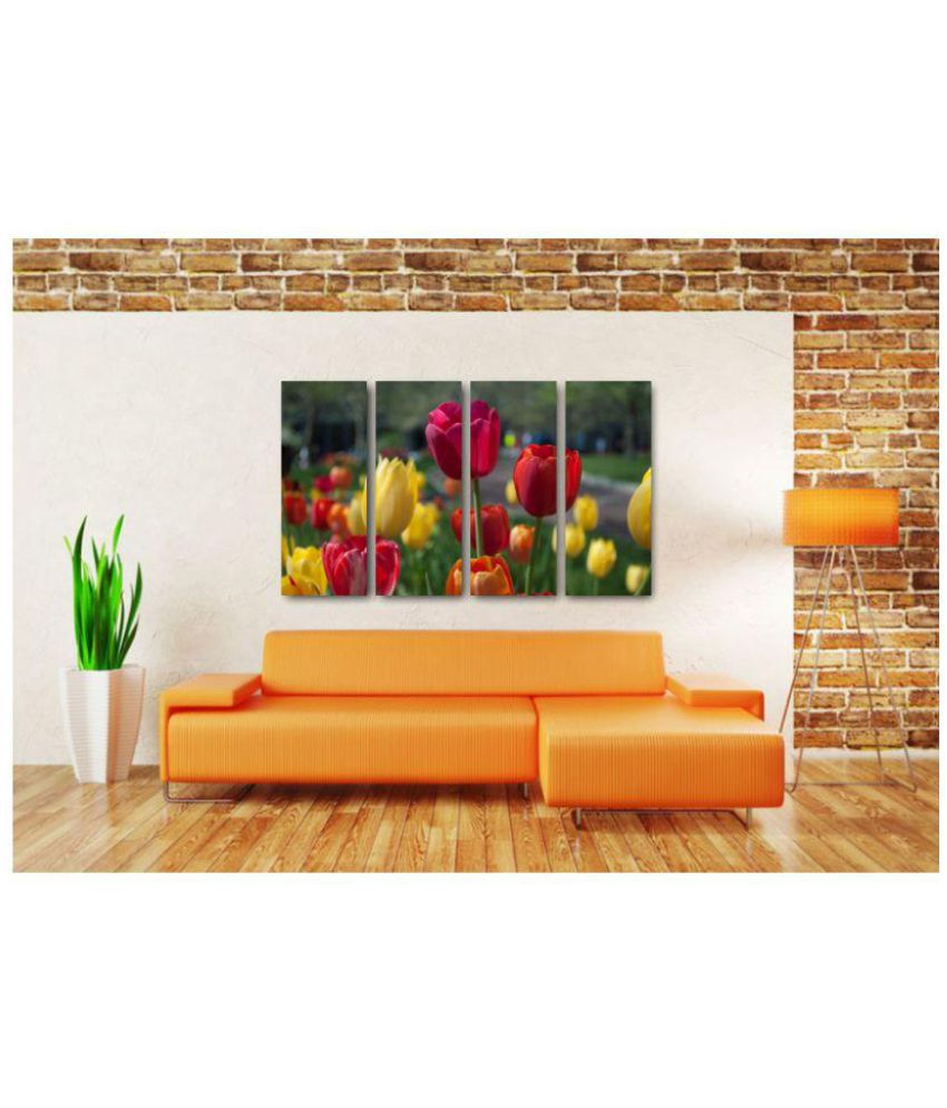 Esfore Contemporary & Stylish Printed Artwork/Painting - Tulips