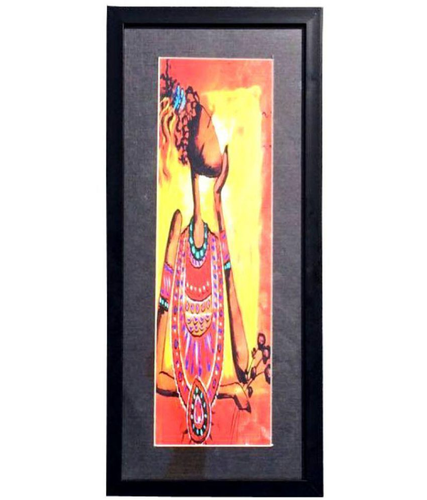 Kalakari e Shop Acrylic Painting With Frame Single Piece