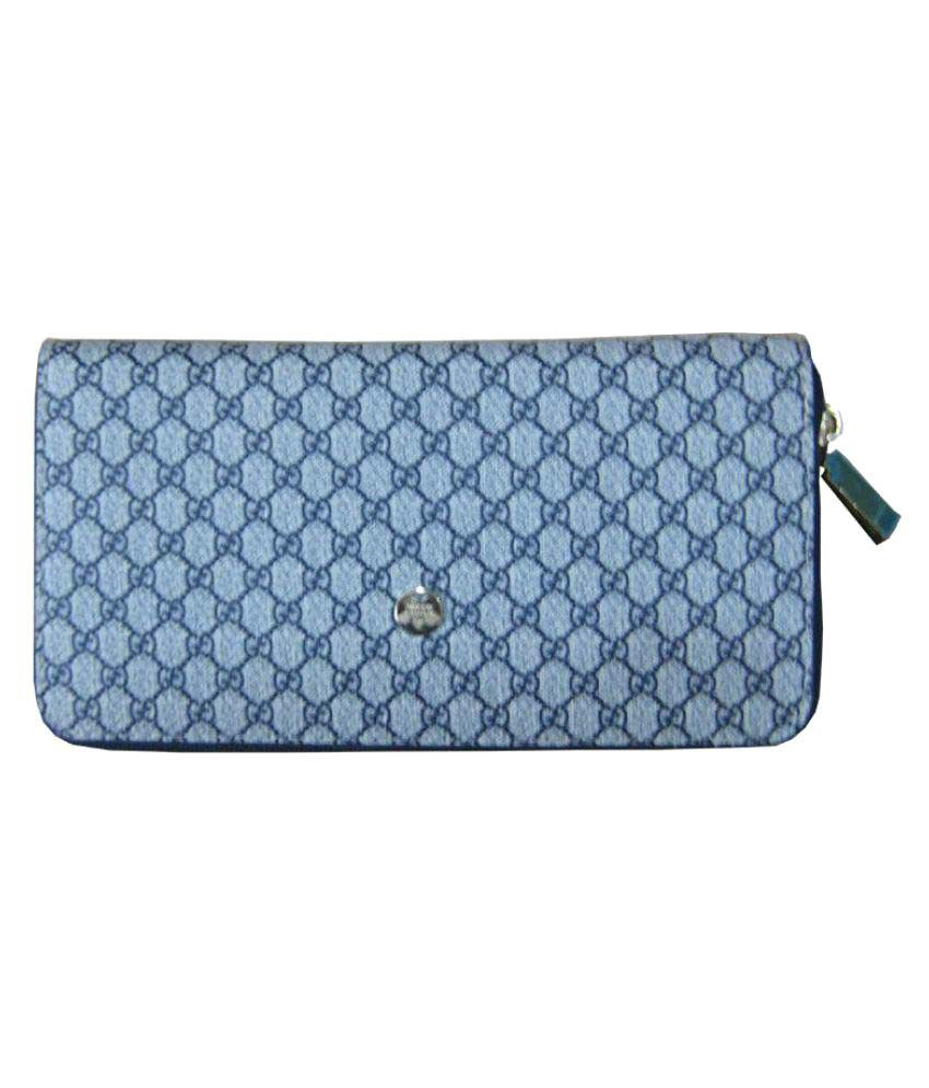 Gucci Navy Wallet