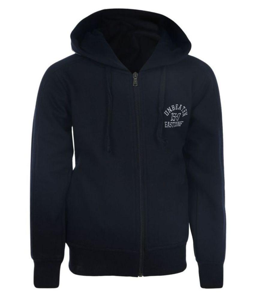 Haig-Dot Navy Fleece Sweatshirt