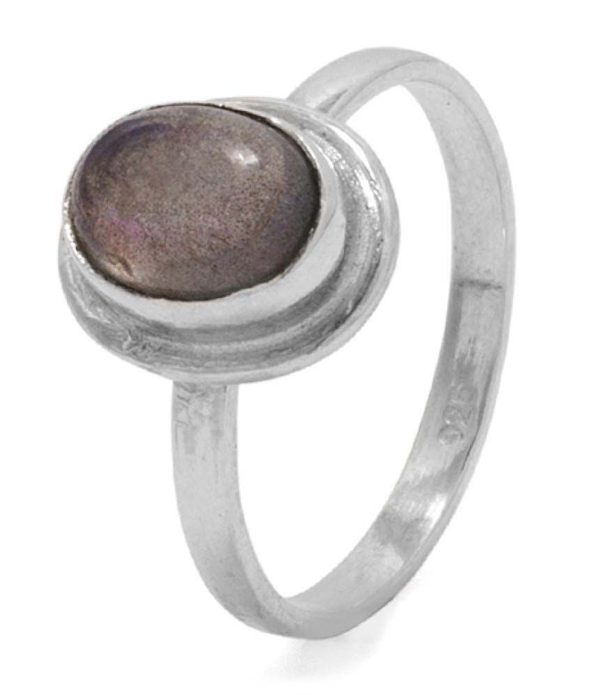 Voylla 92.5 Silver Cubic Zirconia Ring