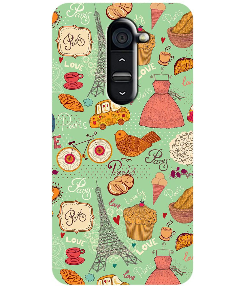LG G2 Printed Cover By LOL
