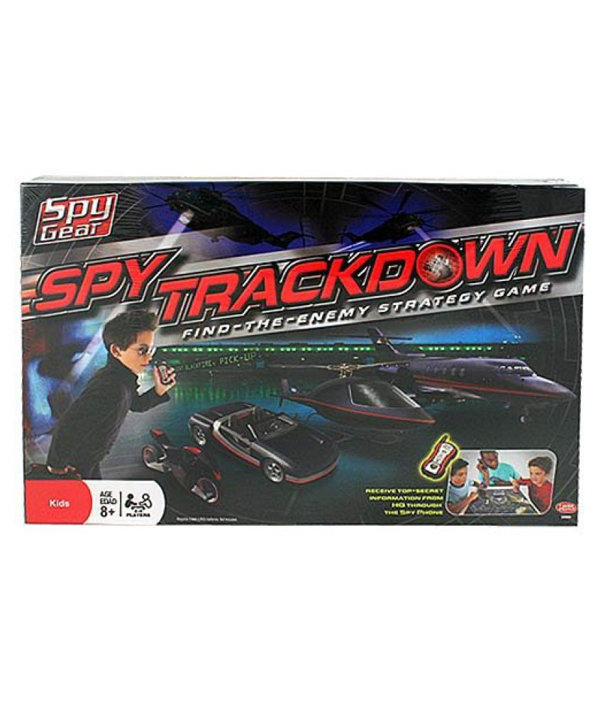 Spy Gear Other Assorted Board Games