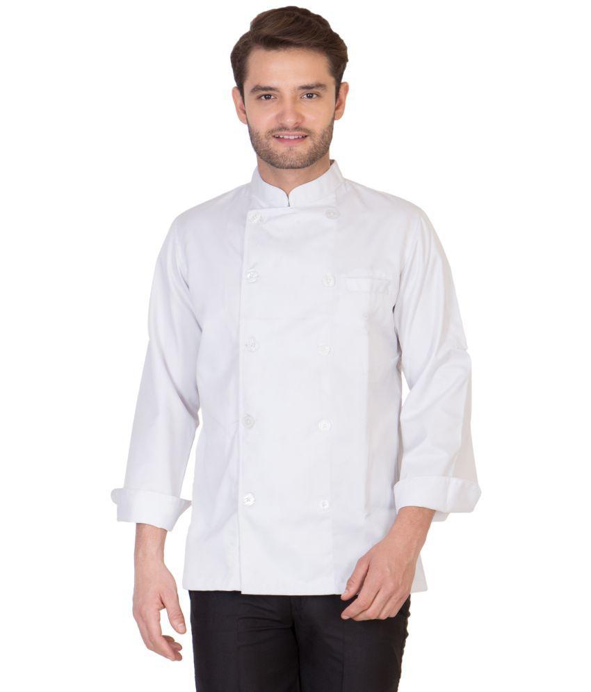 Buy white apron online - Dress Single Blends Apron