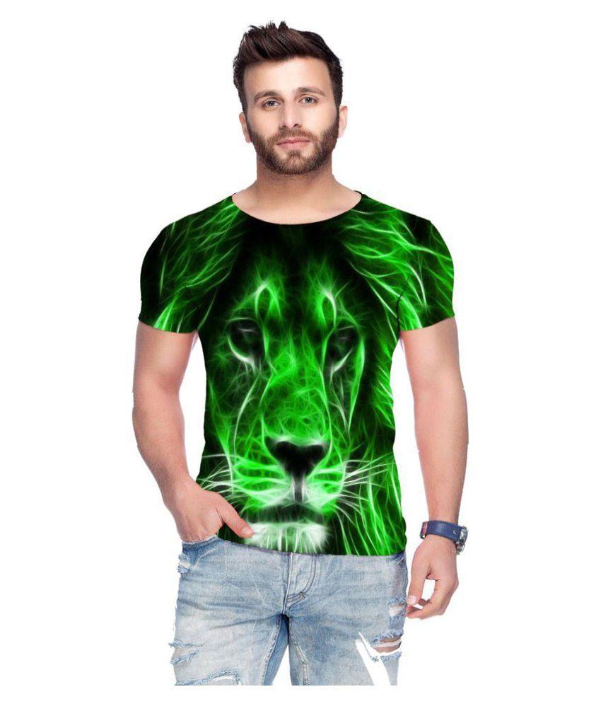 Raves Green Round T-Shirt