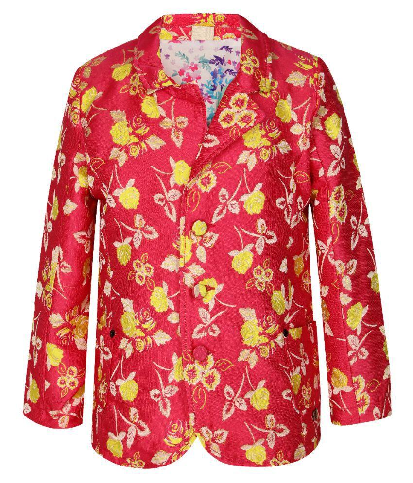 UFO Pink Cotton Jacket