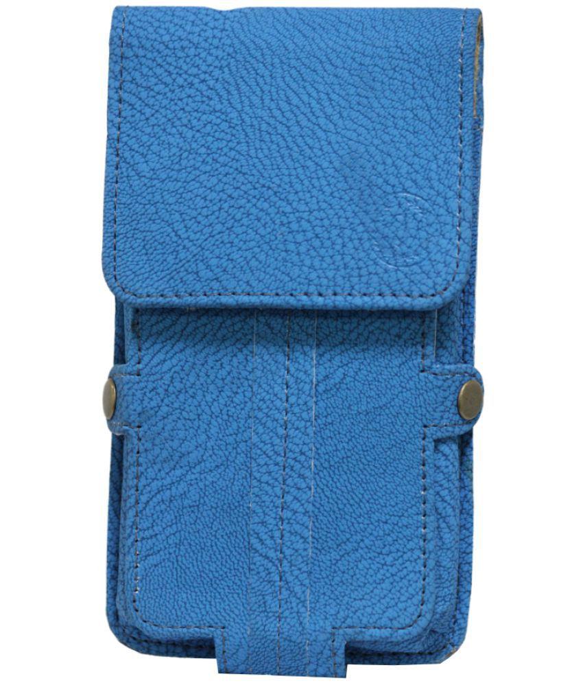 Samsung Galaxy J3 Pro Holster Cover by Jojo - Blue