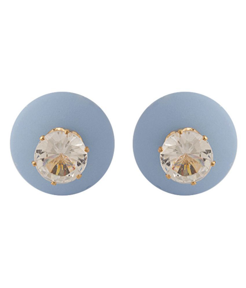 Voylla Multicolour Alloy Classic Pair Of Stud Earrings