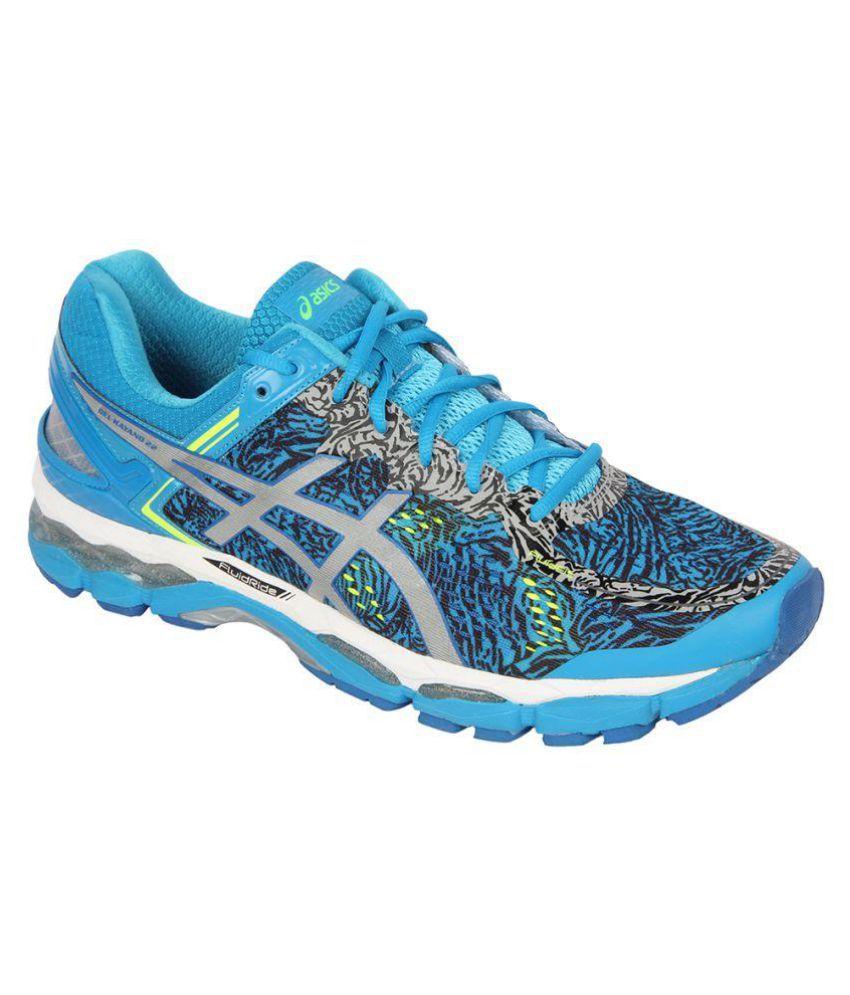 f5e0488c14 Asics Gel-Kayano 22 Lite-Show Blue Running Shoes