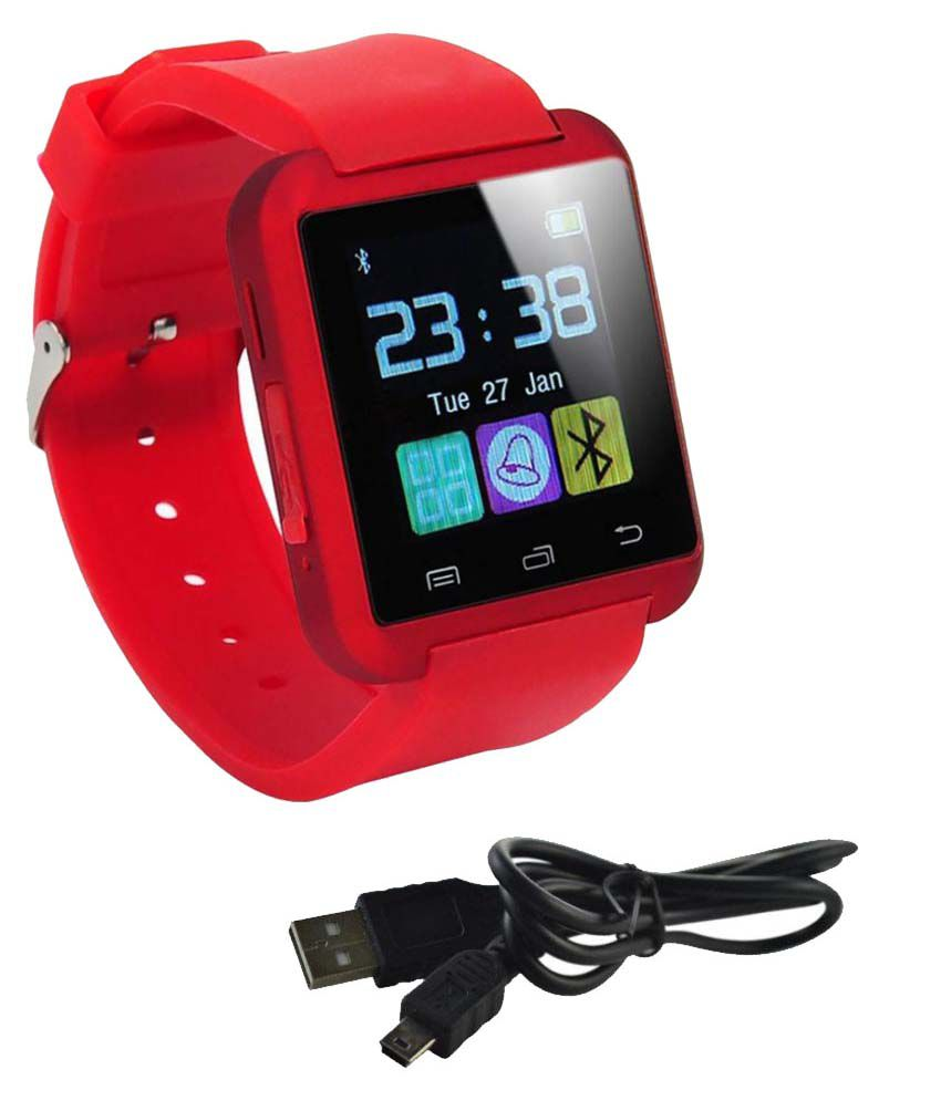 JIKRA wildfire s Smart Watches Red