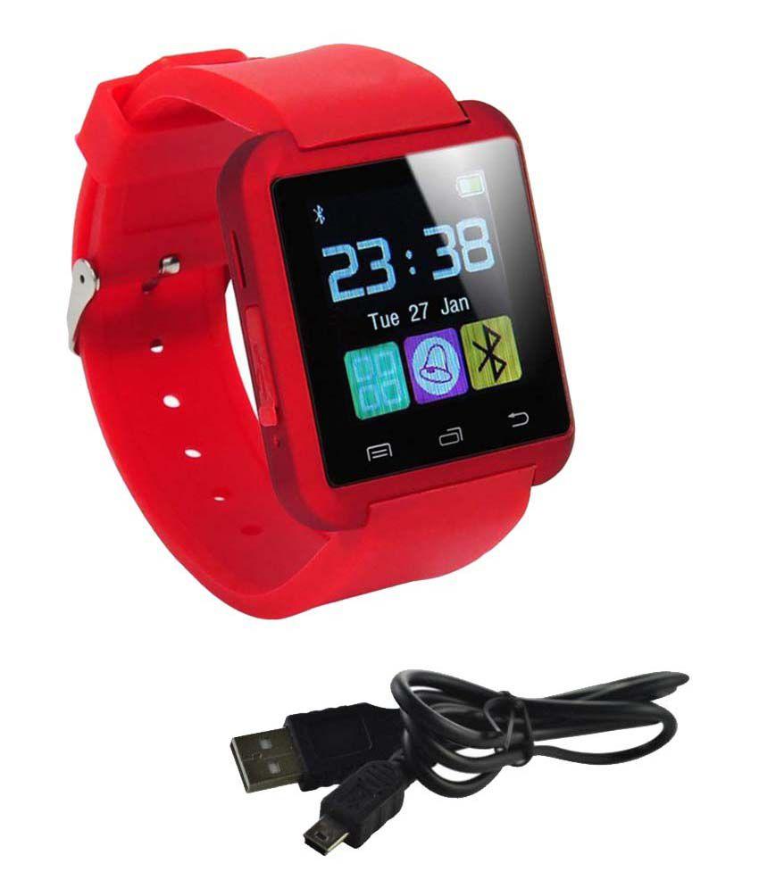 JIKRA 8s Watch Phones Red