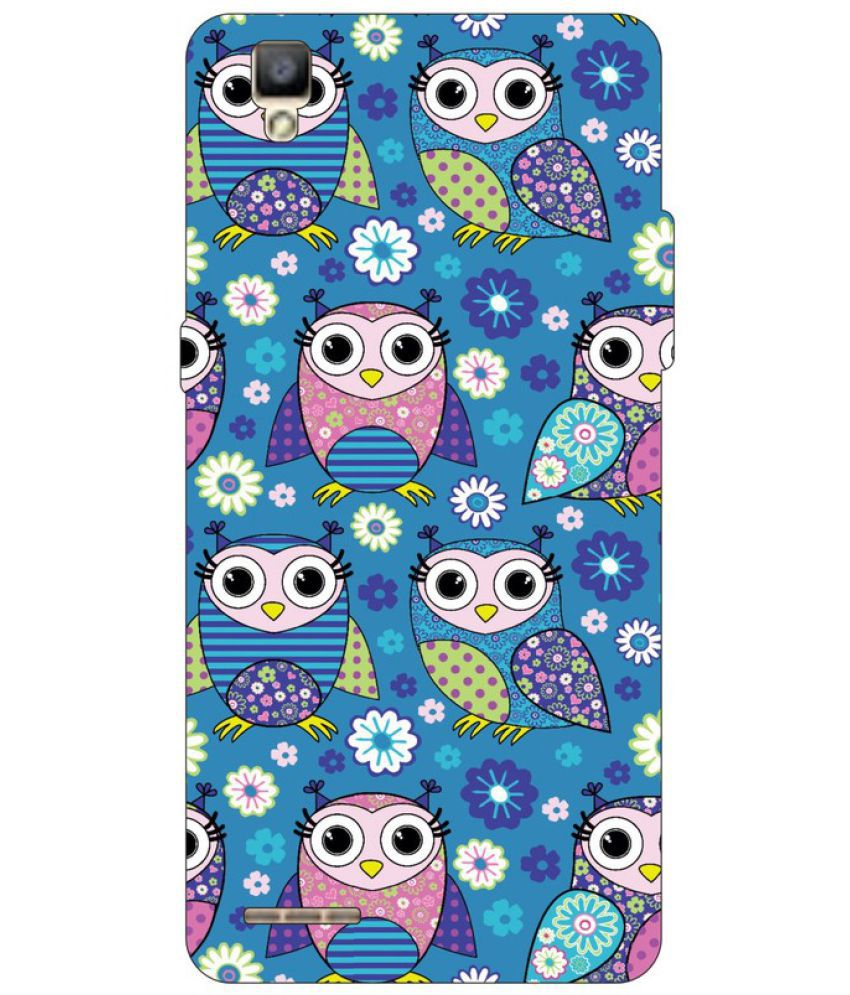 Oppo F1 Plus Printed Cover By Go Hooked