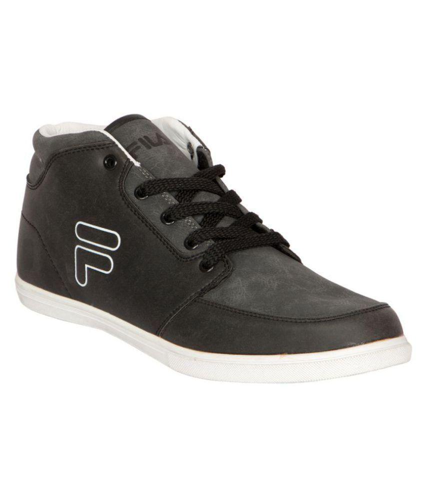 fila sneakers black casual shoes buy fila sneakers black