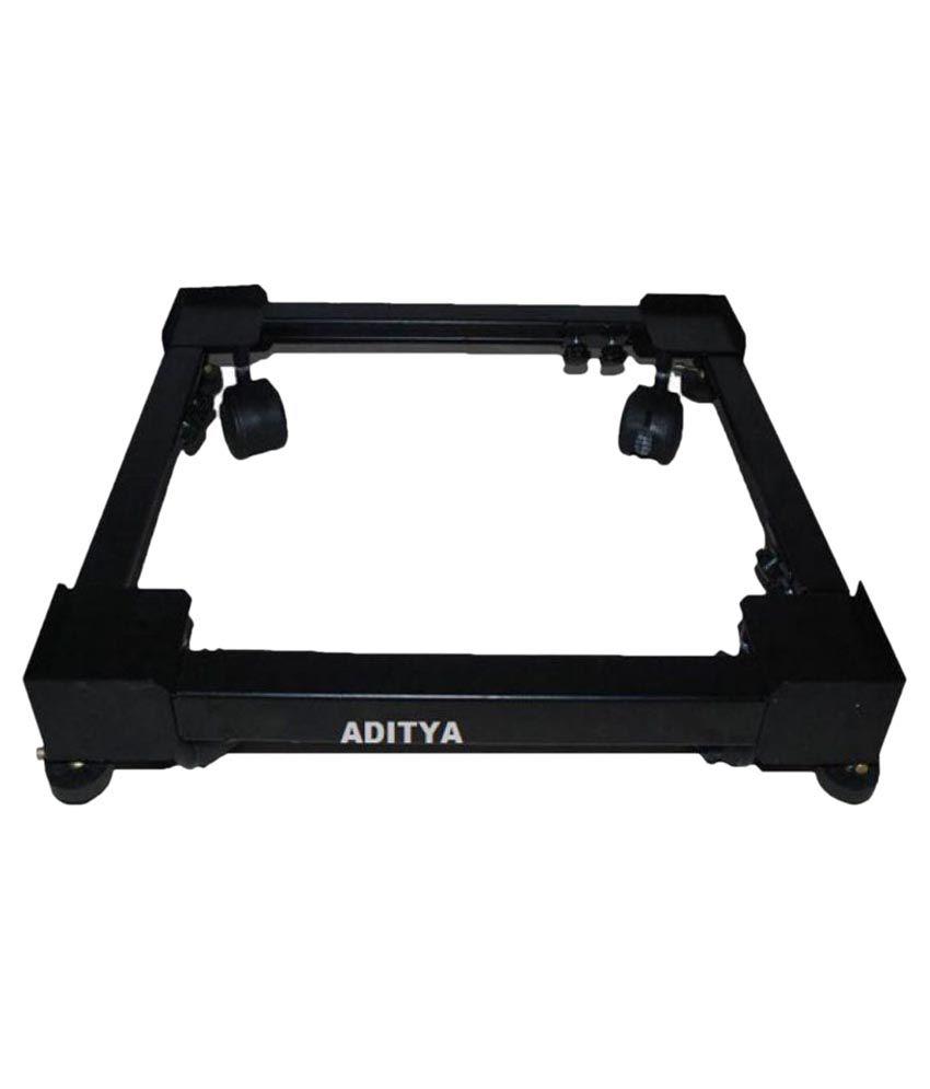 Aditya Semi-Automatic Double Drum Machine Iron Black Multipurpose Premium Innovative Product