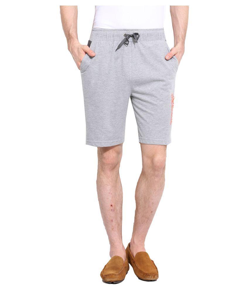 Duke Grey Shorts