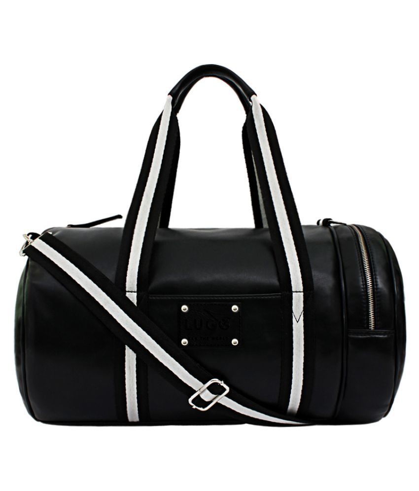 Lugo Black Gym Bag