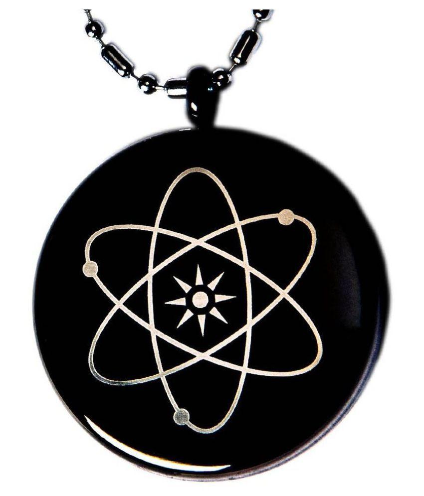 The Jewelbox Black Alloy Pendant