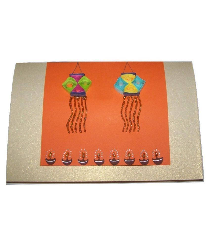 handmade diwali greeting card buy online at best price in