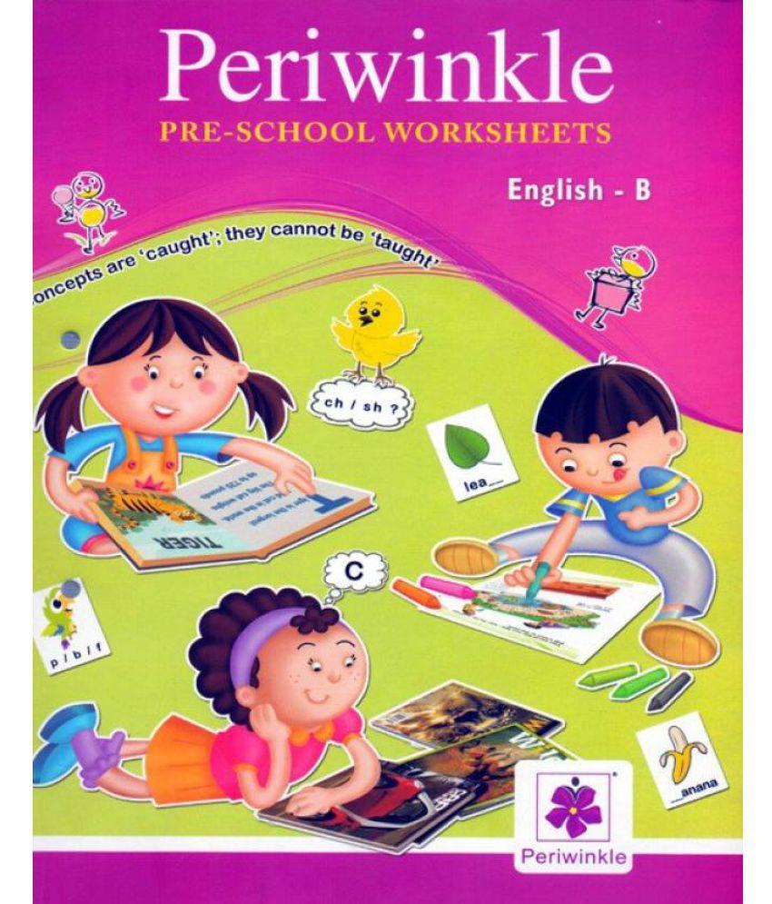 Periwinkle Pre - School Worksheets English - B: Buy Periwinkle Pre ...