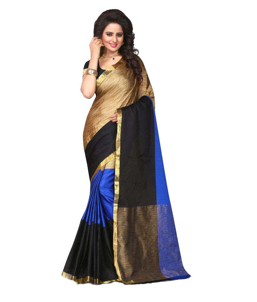 Avni N Anvi Multicoloured Cotton Silk Saree