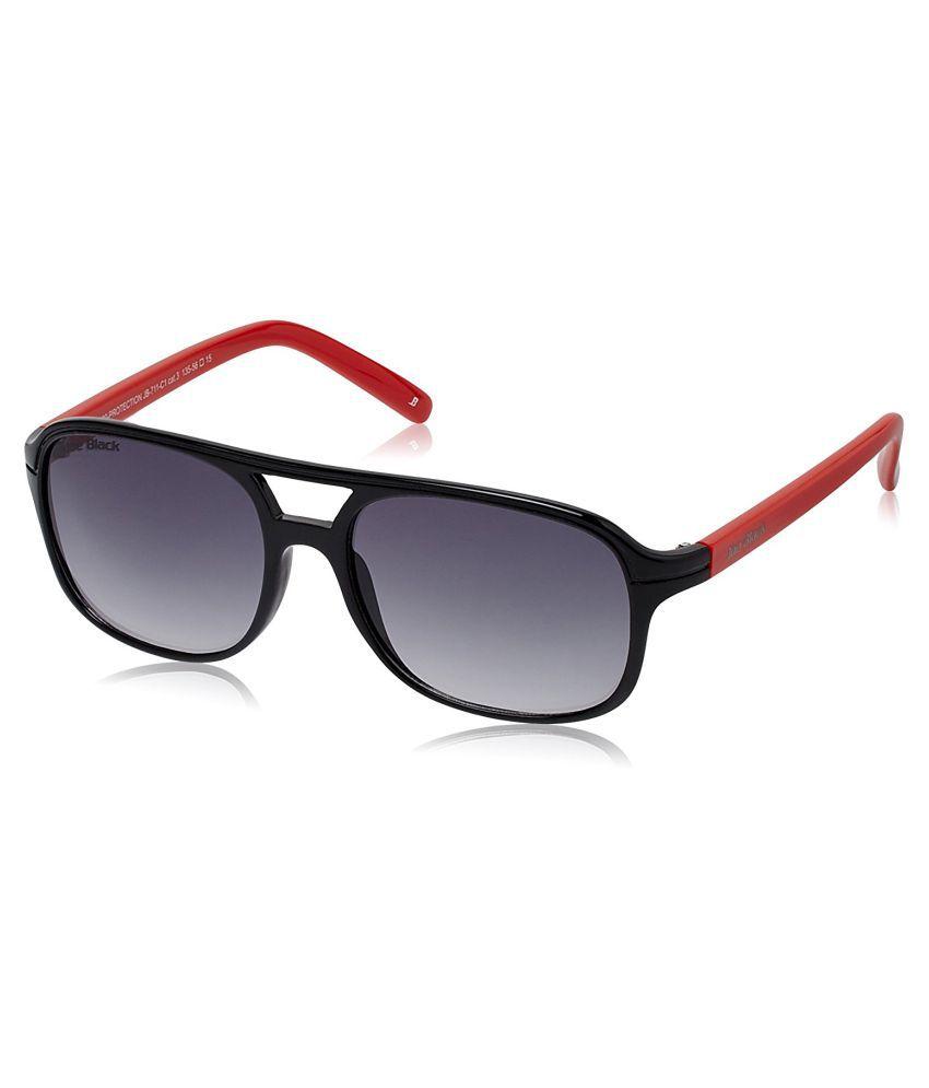 Joe Black Grey Rectangle Sunglasses ( JB-711-C1 )