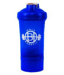 Holy Barbell Blue Shaker Bottle With Hidden Compartment