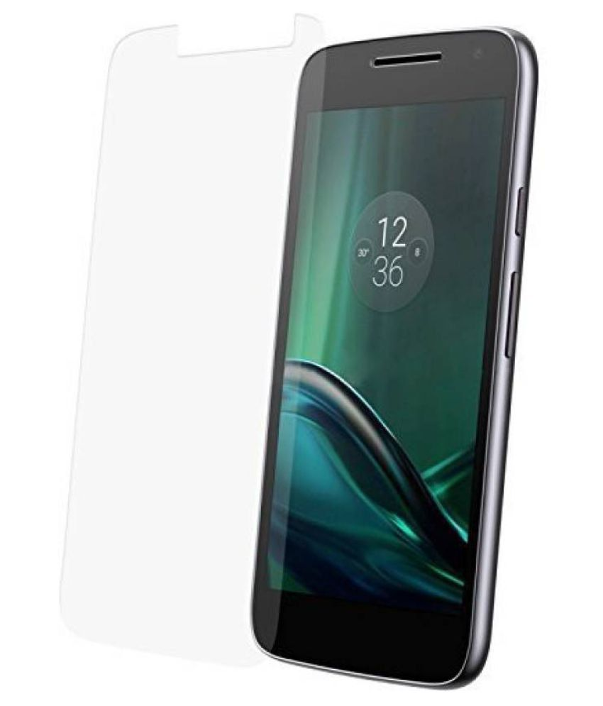 Moto G4 Play Tempered Glass Screen Guard By Kosher Traders