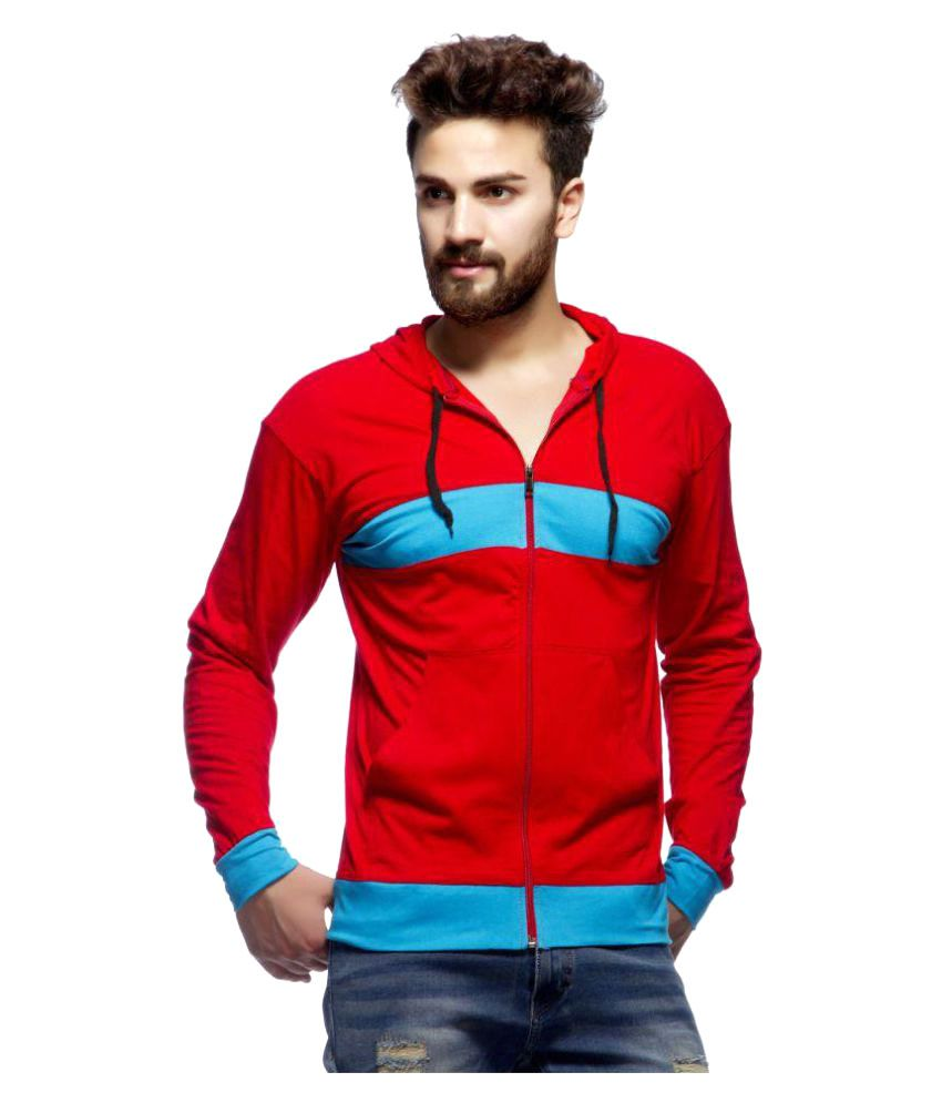 Demokrazy Red Hooded T-Shirt