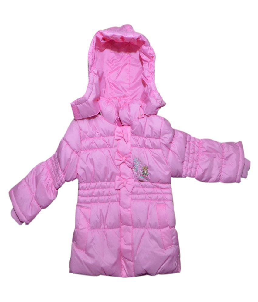 Winter Fuel Baby Pink Kids  jacket